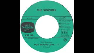"Sinceres – ""Our Winter Love"" (instrumental) (Epic) 1963"