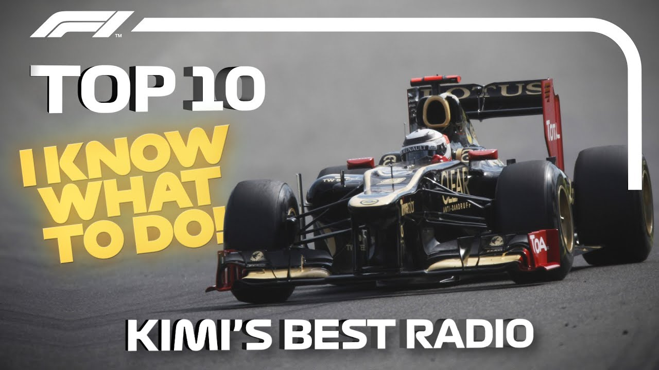 Top 10 Moments of Radio Raikkonen! Kimi's Best Team Radio Messages