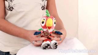Попугай Кеша Набор из мягких игрушек Кот + Попугай Кеша