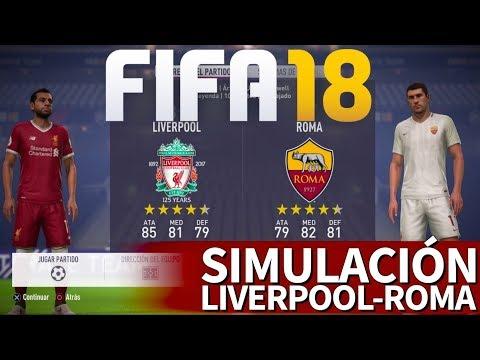 FIFA 18 | Liverpool - Roma: Simulación de la vuelta de semifinales de Champions League | Diario AS