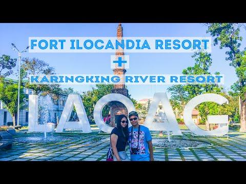 Laoag City Fort Ilocandia and Karingking River - Ilocos Tour 2