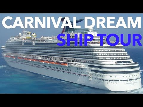 Carnival Dream - Full Walkthrough - Cruise Ship Tour - Carnival Cruise Lines