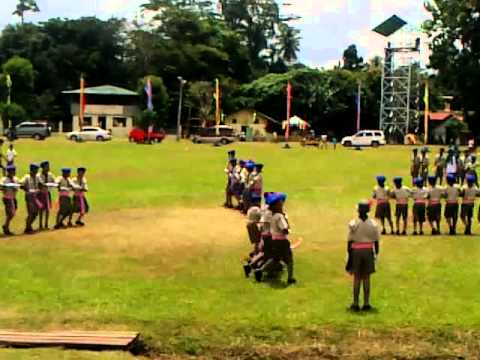 V.L. Angliongto, Sr. Elementary School Davao City BSP FANCY DRILL 11-Sept-2013