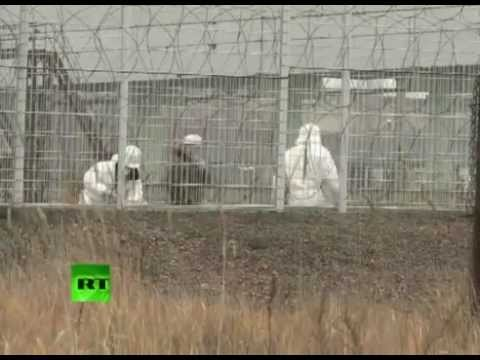 Giant sarcophagus built at Chernobyl nuclear plant. Nuclear heritage!?