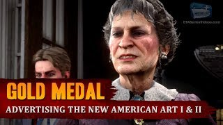 Red Dead Redemption 2 - Mission #31 - Advertising, the New American Art I & II [Gold Medal]
