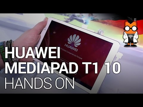 Huawei MediaPad T1 10 Hands-On [deutsch]