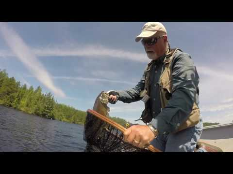 Smallies on a Fly | Branches Seine River Lodge