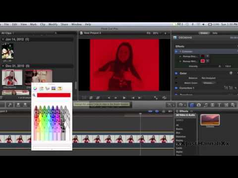 Tutorial: Neon Effect in FCPX