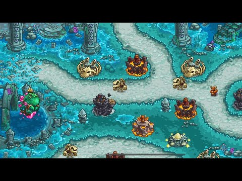 Kingdom Rush Vengeance: Level 20 - Pond of the Sage (Normal, 3 Stars) IOS Gameplay Walkthrough (HD)