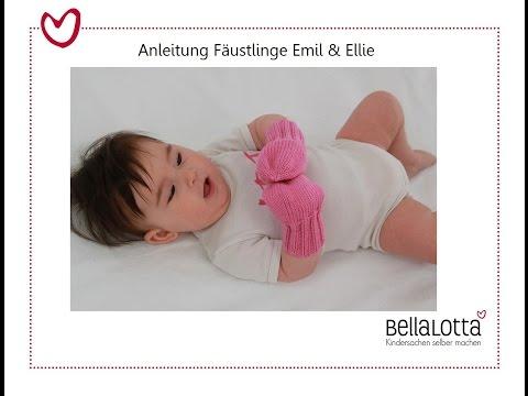 Handschuhe/Fäustlinge Einfach Stricken - Mit Nadelspiel