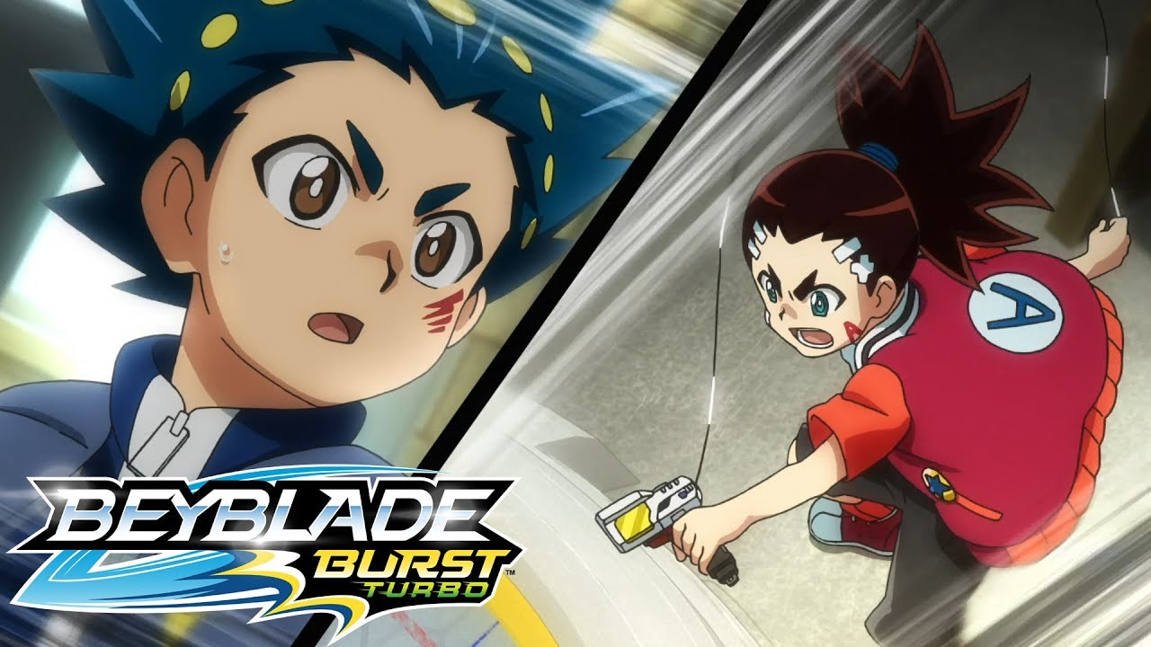 BEYBLADE BURST TURBO Episode 1: Time to go Turbo! Videos For Kids