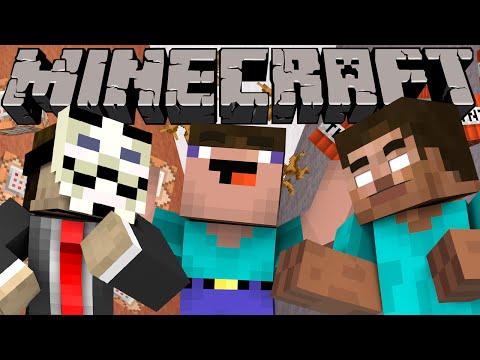 Hacker Vs. Herobrine Vs. Noob - Minecraft