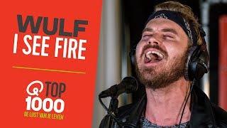 Wulf - 'I See Fire' (live bij Qmusic)