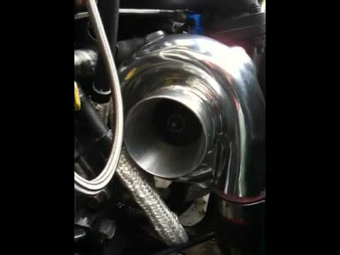 GT35R turbo spins for 36 sec. motor off at idle!!!!!!about 950 rpm ...