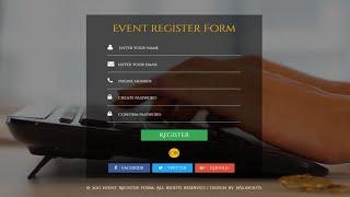 ASP.NET MVC #9 : Registration Form Flat Responsive | FoxLearn