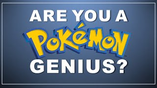 Pokemon Quiz: Guess the Type! (#1 with answers)