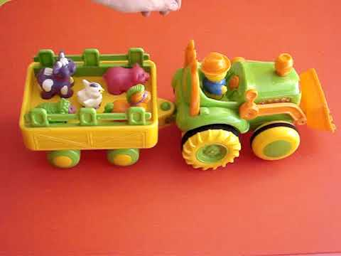 Tractor granja musical Travel Video