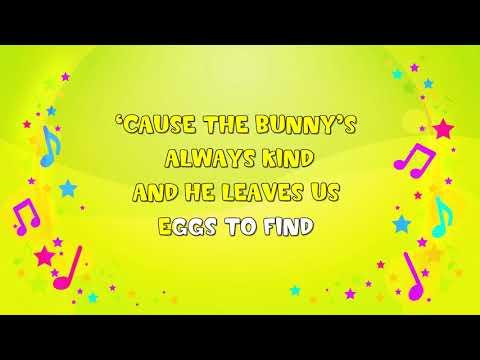 If You Love The Easter Bunny | Karaoke | Nursery Rhyme | KiddieOK