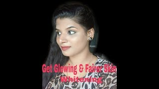 Get glowing skin, Fairer looking Skin , Skin whitening by using single ingredient/Beauty withrovina