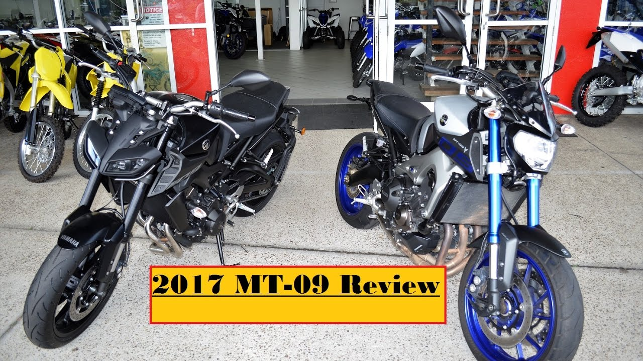 2017 yamaha mt 09 vs 2016 mt 09 changes and quick review youtube. Black Bedroom Furniture Sets. Home Design Ideas