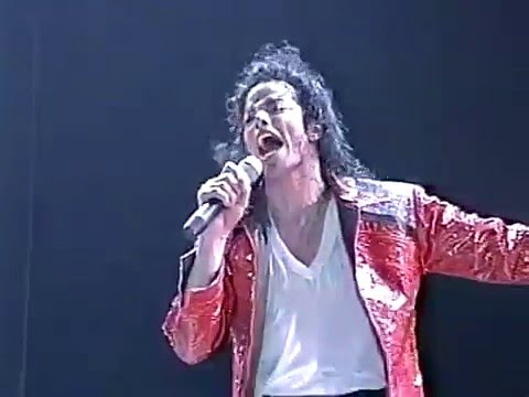 "Michael Jackson - ""Beat It"" - HIStory Tour Malaysia - Enhanced SD"