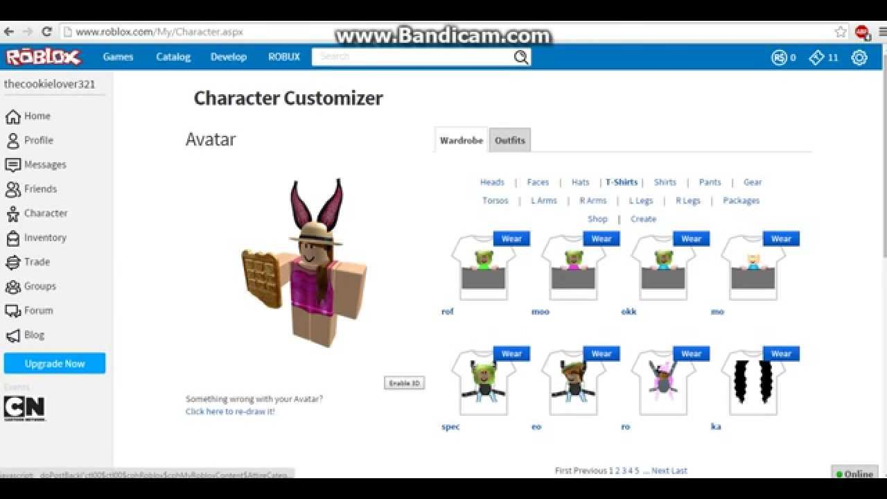 How To Customize Your Character On Roblox Youtube