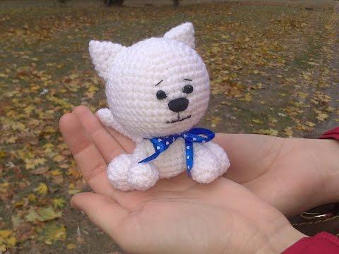 Вязание крючком. Игрушка Заяц. Crochet Rabbit. Часть 1/3