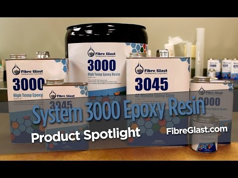 System 3000 High Temp Epoxy Resin