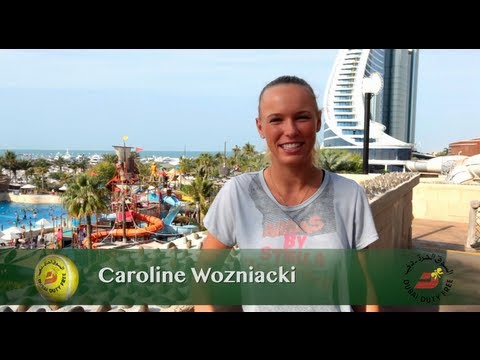 Caroline Wozniacki | Dubai Full of Surprises Travel Show | Dubai Duty Free 2013