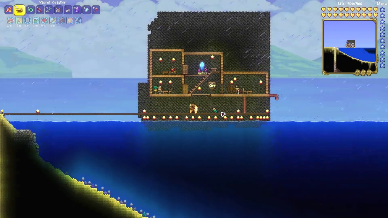 How To Get Parrot Cracker Terraria 1 4 Youtube