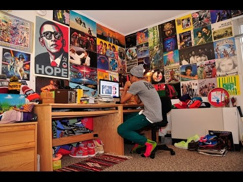 Cool Free Posters for Room Tutorial - YouTube