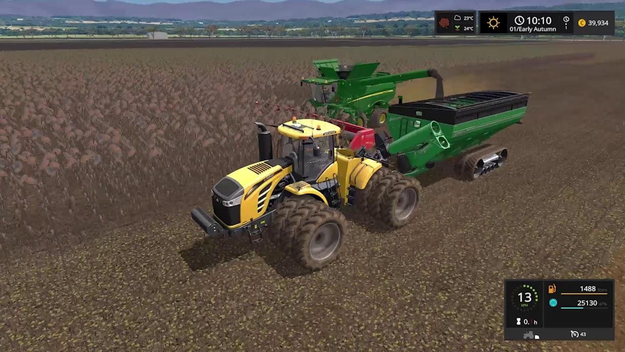 Farming Simulator 17 Timelapse #31 | Southern Cross station ( Australia } #1