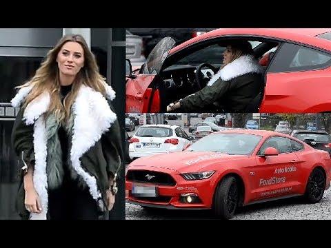 Zawadzka wsiada do Mustanga za 170 TYSIĘCY ZŁOTYCH!