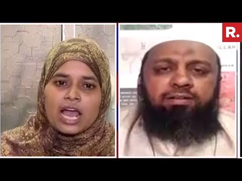 Ishrat Jahan Vs Illyas Sharafuddin Over Triple Talaq Law