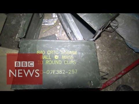 What was found in IS Iraq tunnels? BBC News