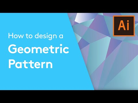 Flat Design Tutorials: How To Design A Geometric Pattern In Adobe Illustrator | Solopress