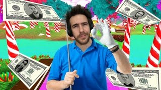 $100 CANDY WAGER ON THE NEW GOLF WITH FRIENDS MAP (CANDYLAND)!