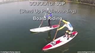 SUP by Board Riding