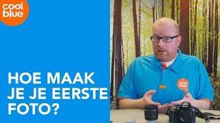 Hoe maak je je eerste foto met een spiegelreflexcamera?