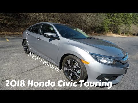 2018 Honda Civic Touring Full Review Inside & Out | Walk Around
