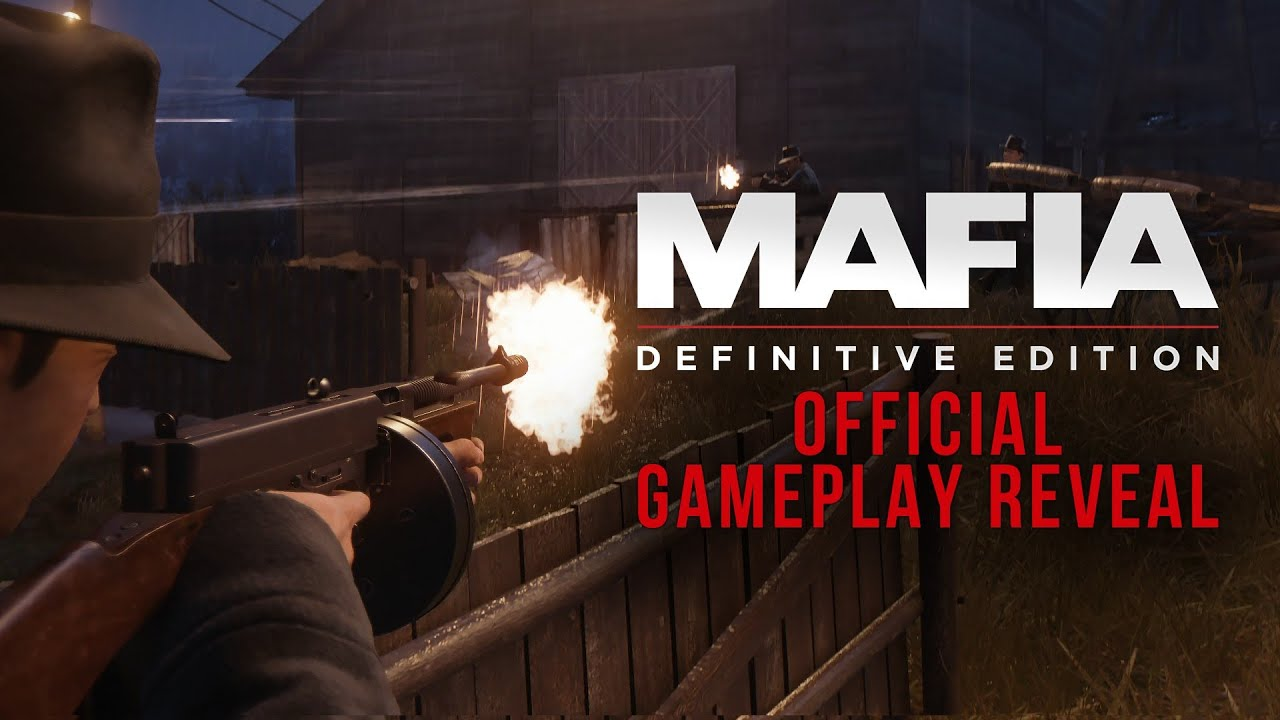 Mafia: Definitive Edition - Official Gameplay Reveal   PS4