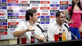 Presentación de Francisco Arce como nuevo DT de la selección paraguaya de fútbol (1era. parte)