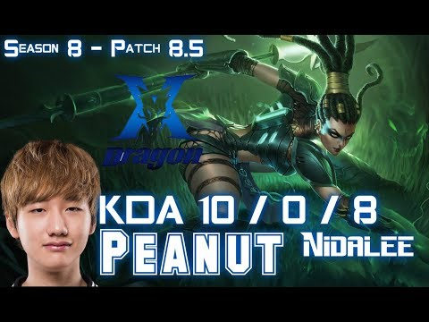 KZ Peanut NIDALEE vs JARVAN IV Jungle