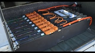 dead tesla battery pack successfully revived