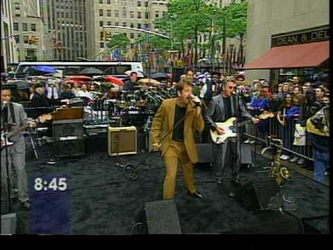 Huey Lewis and The News  NBC Today Show concert  Heart of Rock and Roll