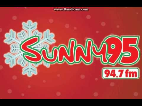 "25 Days of Christmas 2016 EXTRA: WSNY ""Sunny 95"" Station ID December 15, 2016 8:04pm"
