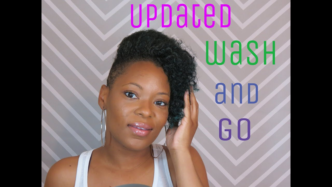 How to Style Short Hair Shaved SidesUndercut Updated Wash n Go
