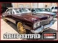 1973 Impala Vert Rootbeer Kandy on All Gold Forgiato's From Infamous Customs