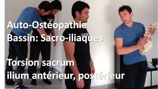 Auto-ostéopathie Bassin: Libérer Sacro-Iliaques = équilibre posture