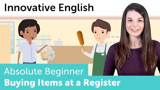 How to Buy Items at a Register in English - Innovative English